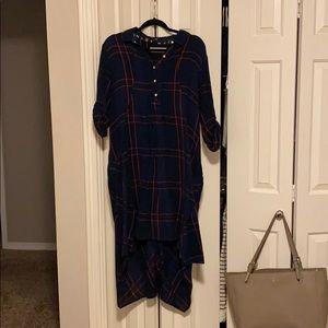 Anthropologie hi/low dress